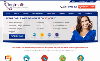 Web Design Company London - Logicsofts