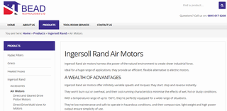 Ingersoll Rand Air Motor