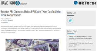 Have I Got PPI Blog