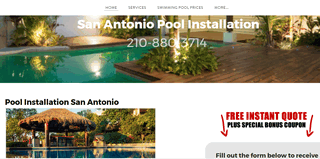 Pool Installation San Antonio