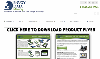 Industrial SSD and Military Grade SSD USBs | Envoy Data Memory