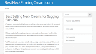 Find the Best Neck Cream for Sagging Skin