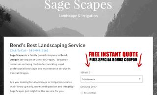 Landscapers Bend oregon