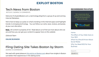 Exploit Boston