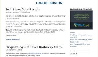 Exploit Boston