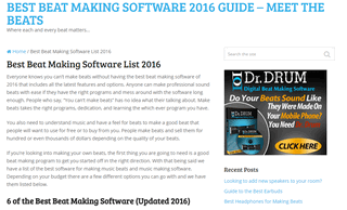 Top Beat Making Software