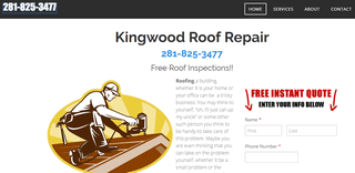 Roofing Company in Kingwood, TX