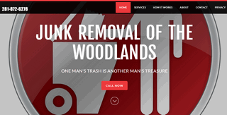 Junk Removal Services The Woodlands, TX