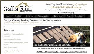 Roof Repair Orange County