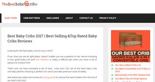 Best bay cribs
