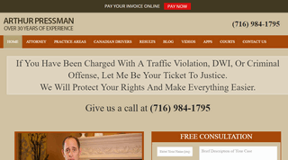 BUFFALO DWI & TRAFFIC LAW ATTORNEY