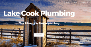 Plumbing for the house