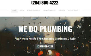 Plumbing Service Brandon MB