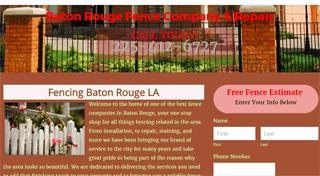Fence Baton Rouge