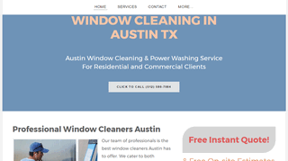 Window Cleaning Austin - Round Rock - Cedar Park