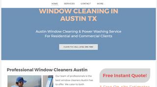 Window Cleaning Austin - Round Rock - Cedar Park