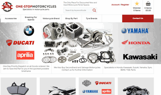 New & Used One Stop Motorcycle Parts UK
