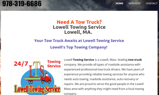 Lowell Towing Service