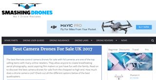 Smashing Drones UK