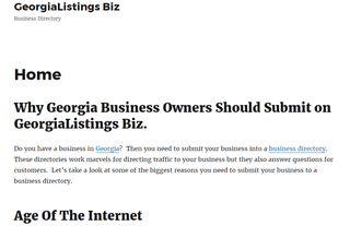 GeorgiaListings Business Directory