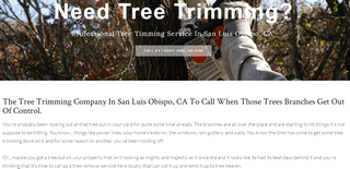 Tree Trimming In San Luis Obispo