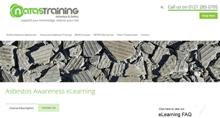 Online Asbestos Awareness Training & Courses in UK