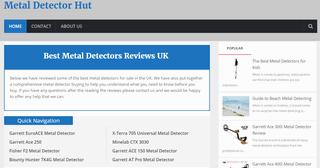 Metal Detector Hut