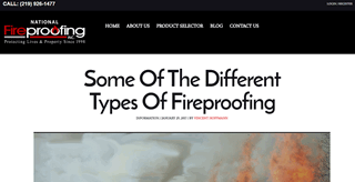 Some Of The Different Types Of Fireproofing
