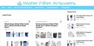 Water Filter Answers