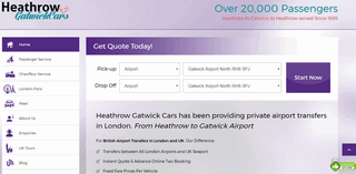 London Airport Transfers UK Taxis - Heathrow Gatwick Cars
