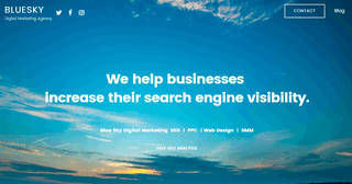 Blue Sky - Digital Marketing Agency