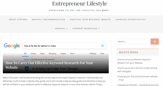 Entrepreneur Lifestyle - Digital Marketing Blog