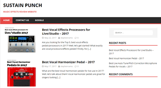Sustain Punch - Vocal Effects Review Blog