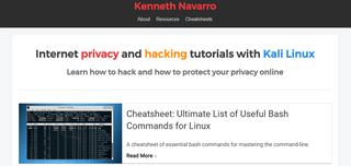 Internet Privacy & Hacking Tutorials with Kali Linux