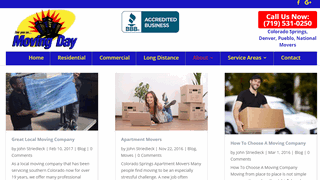 Moving Day Colorado Springs Movers Blog