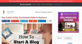 How to Start a Blog: The Complete Guide for Beginners