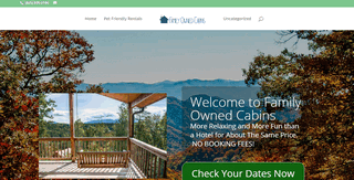 Family Owned Cabin Rentals in Pigeon Forge TN