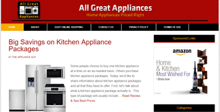 All Great Appliances | Discounts & Best Buys on Home Appliances Online