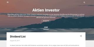 Aktien-Investor