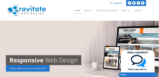 Gravitate Web Design - a Lincoln, Nebrasa web design agency