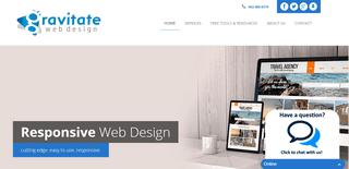 Gravitate Web Design - a Lincoln, Nebrasa web design agency