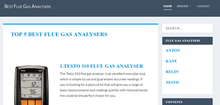 Best Flue Gas Analyser