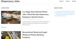Dispensary Jobs