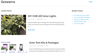 Growerra LED Grow Lights, Tents and Packages