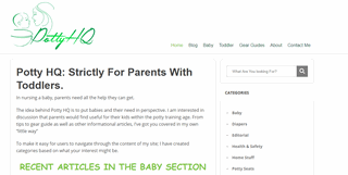 Potty HQ | Strictly For Parents With Toddlers