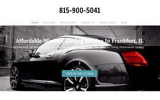 Car Window Tinting Frankfort Il