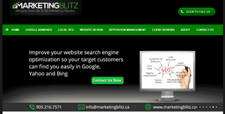 Marketing Blitz Inc. Google AdWords | SEO | Web Design