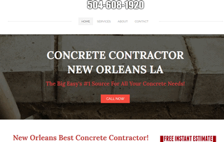 Concrete Contractor New Orleans LA