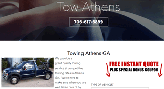 Towing Athens GA