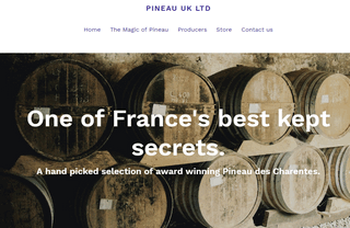 Hand Picked Award Winning Pineau des Charentes